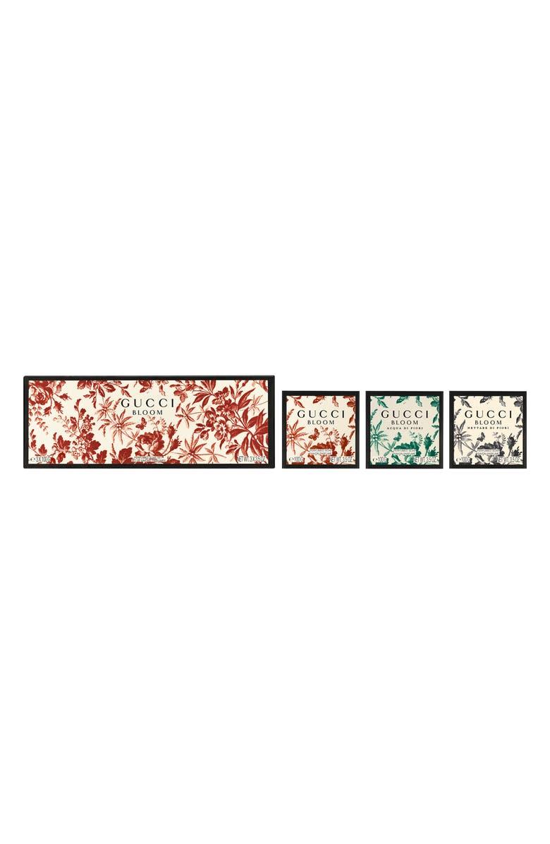GUCCI Bloom Perfumed Soap Trio, Main, color, NO COLOR