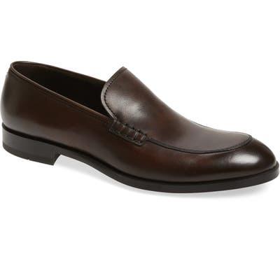 Ermenegildo Zegna Sienna Flew Venetian Loafer, Brown