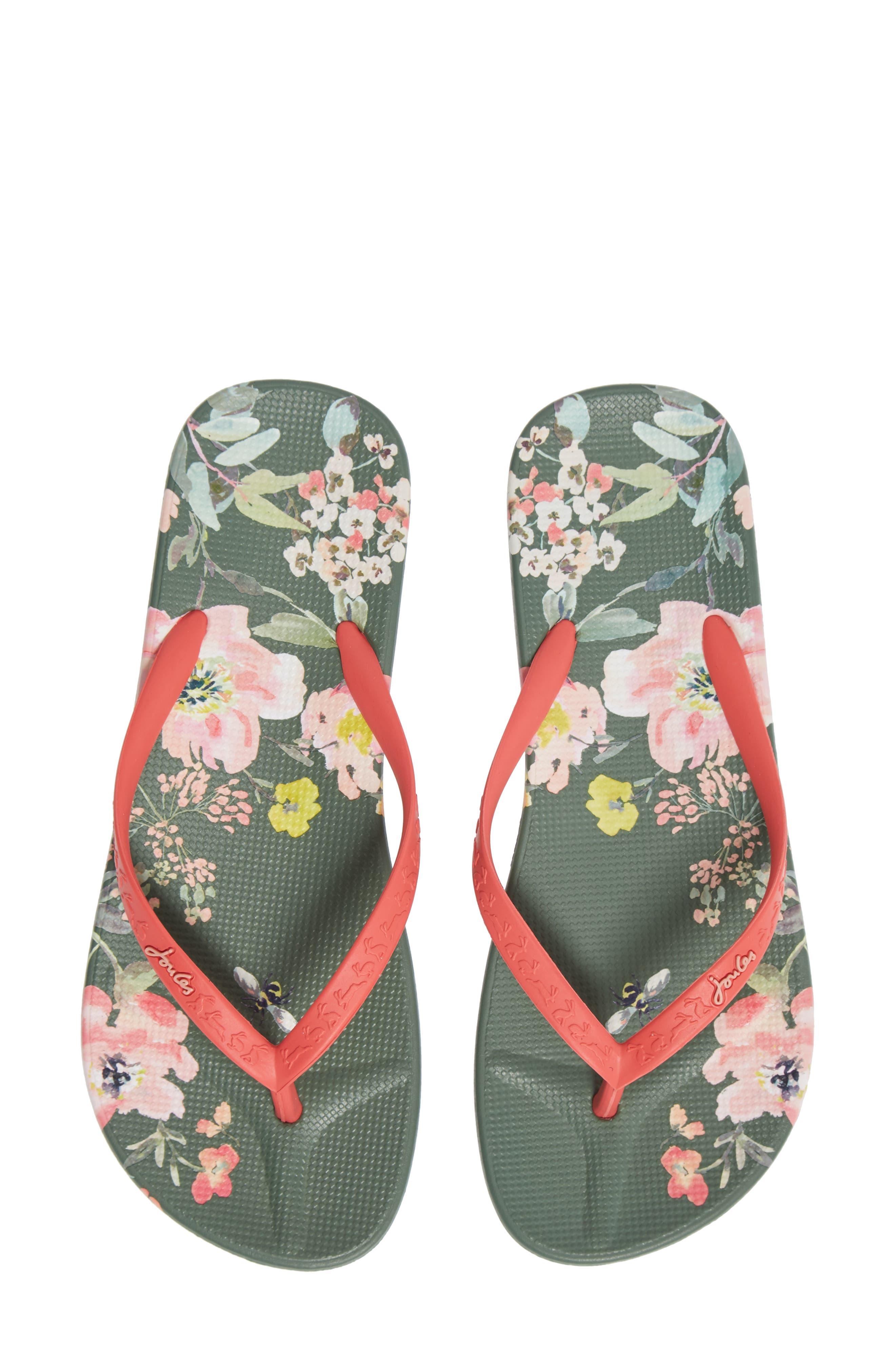Print Flip Flop Sandal