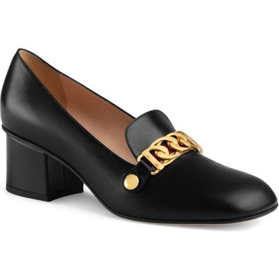 Gucci Loafer Pump - Black