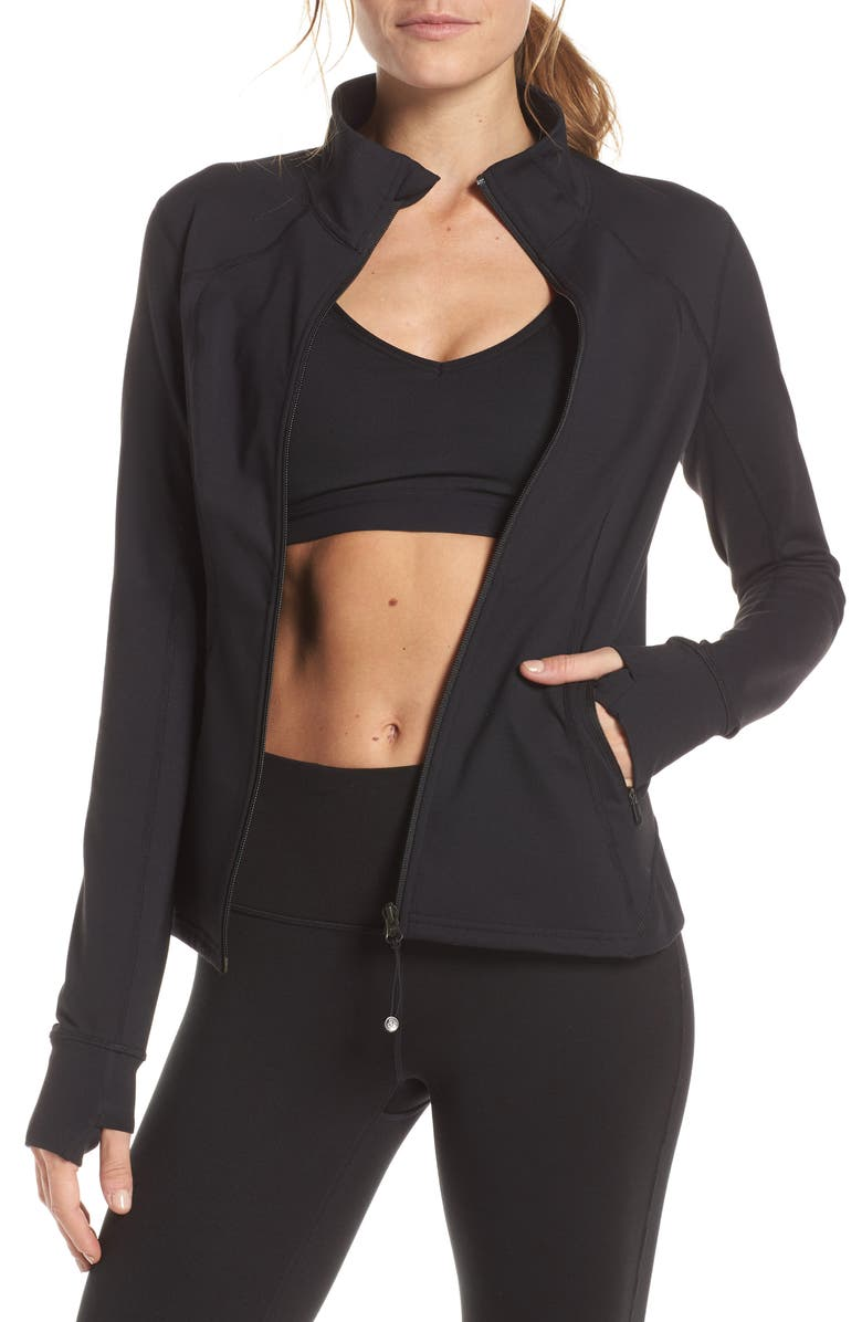ZELLA Live In Performance Jacket, Main, color, BLACK
