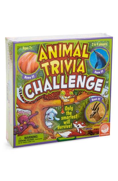 Mindware Kids' Animal Trivia Challenge Game In Multi