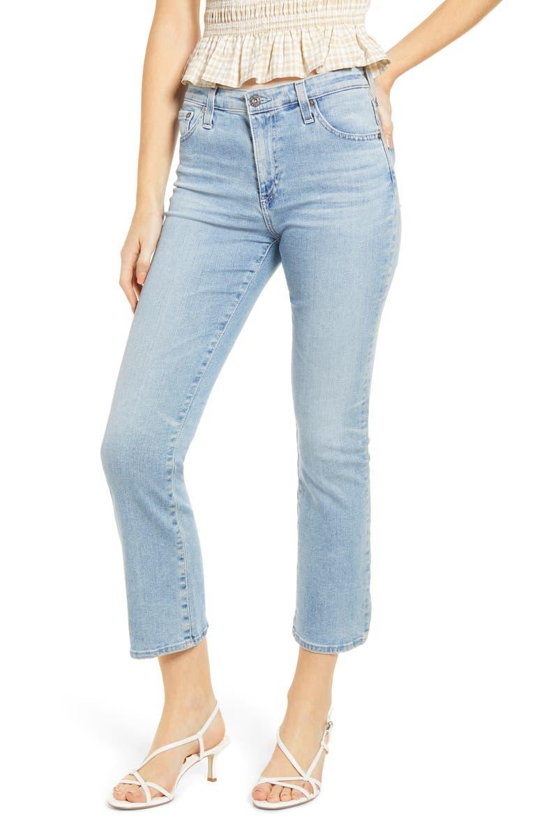 AG Jodi Slim Fit Crop Flare Jeans, Main, color, 486