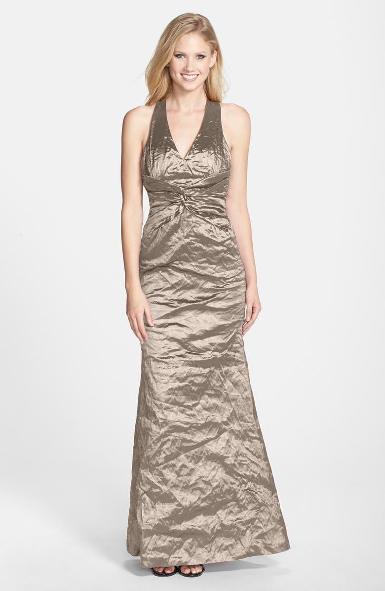 Nicole Miller Sasha Metallic Techno Mermaid Gown Nordstrom,Summer Maxi Dress For Wedding Guest