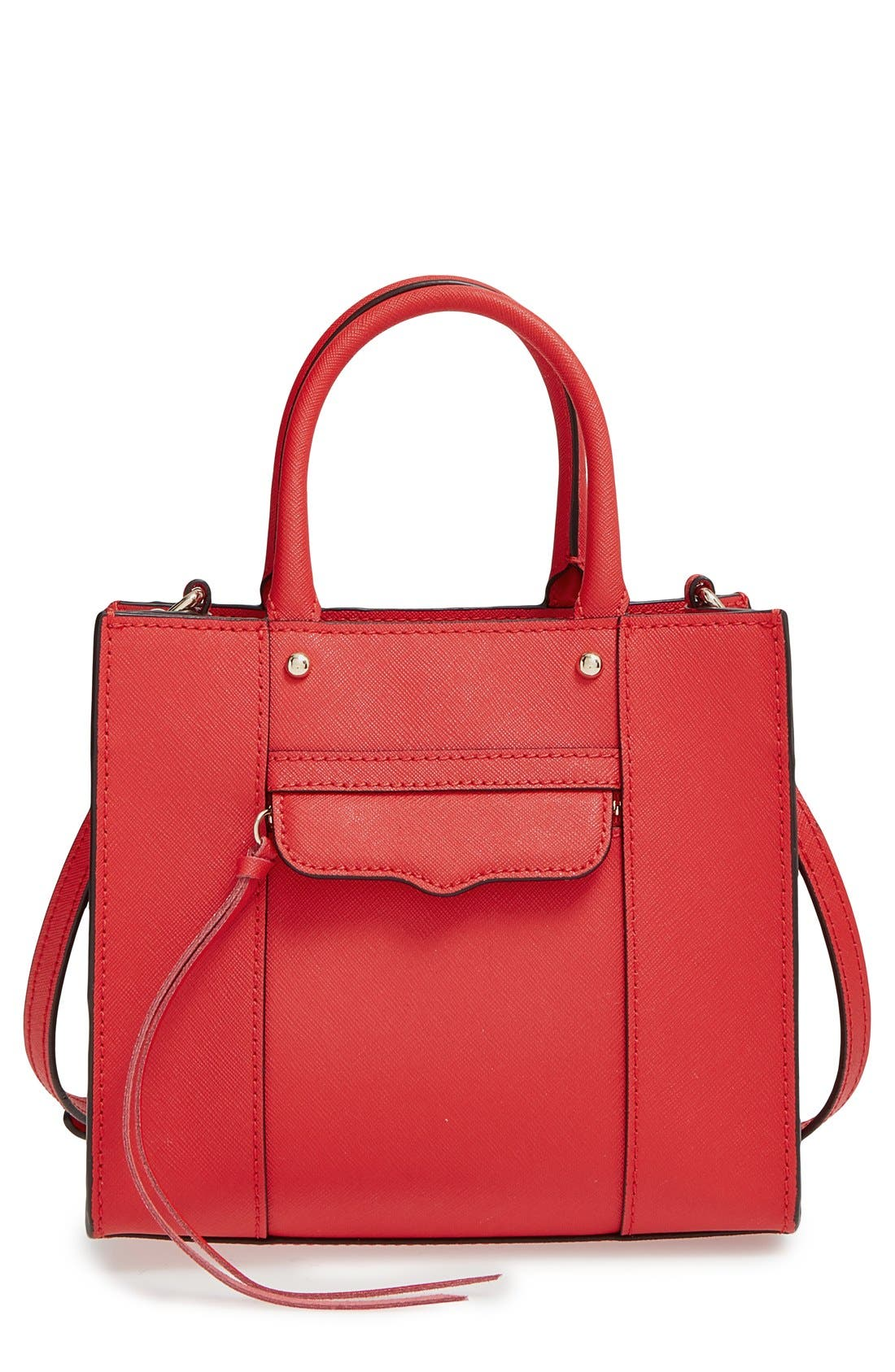 ,                             'Mini MAB Tote' Crossbody Bag,                             Main thumbnail 90, color,                             606