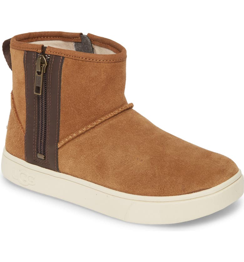 UGG<SUP>®</SUP> Adler Sneaker Boot, Main, color, CHESTNUT