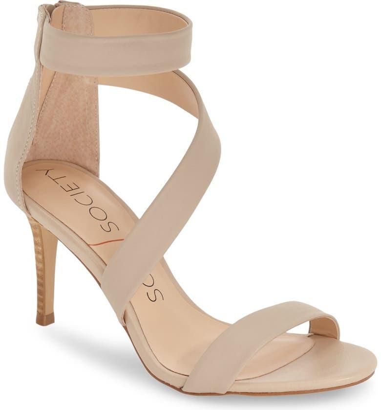 SOLE SOCIETY 'Juliette' Sandal, Main, color, 250