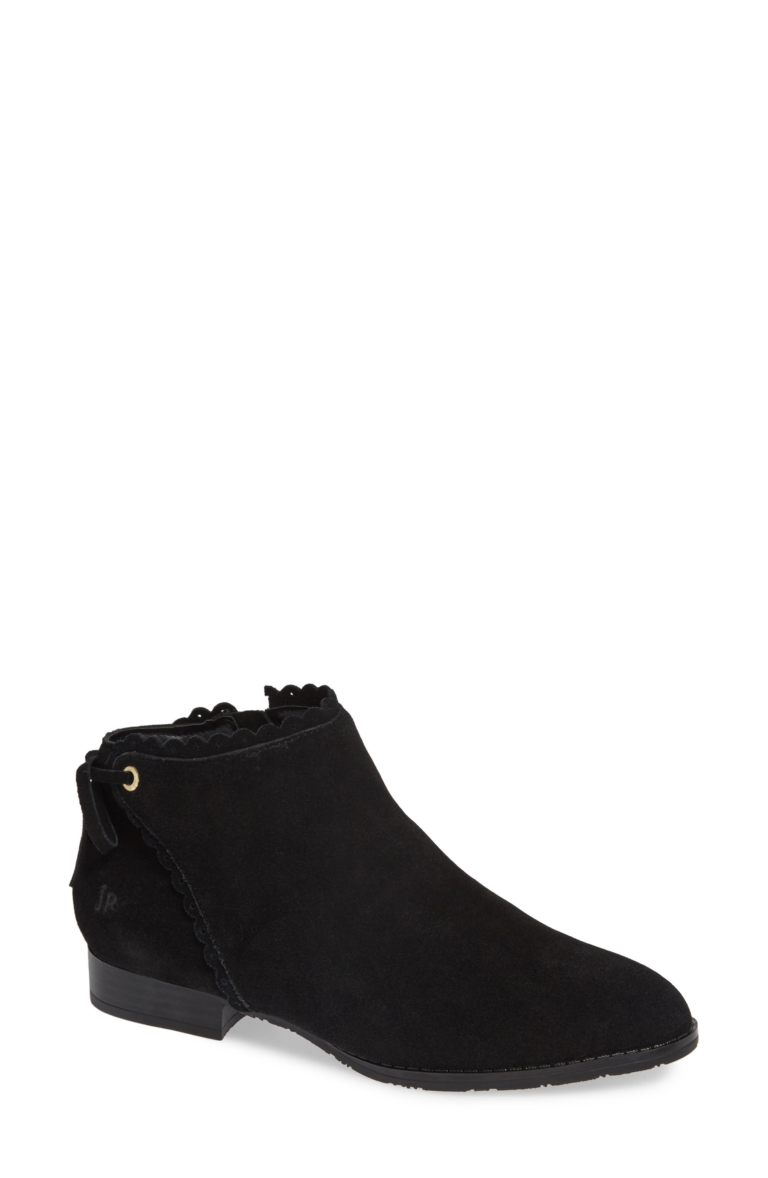 Jack Rogers Scalloped Ankle Bootie