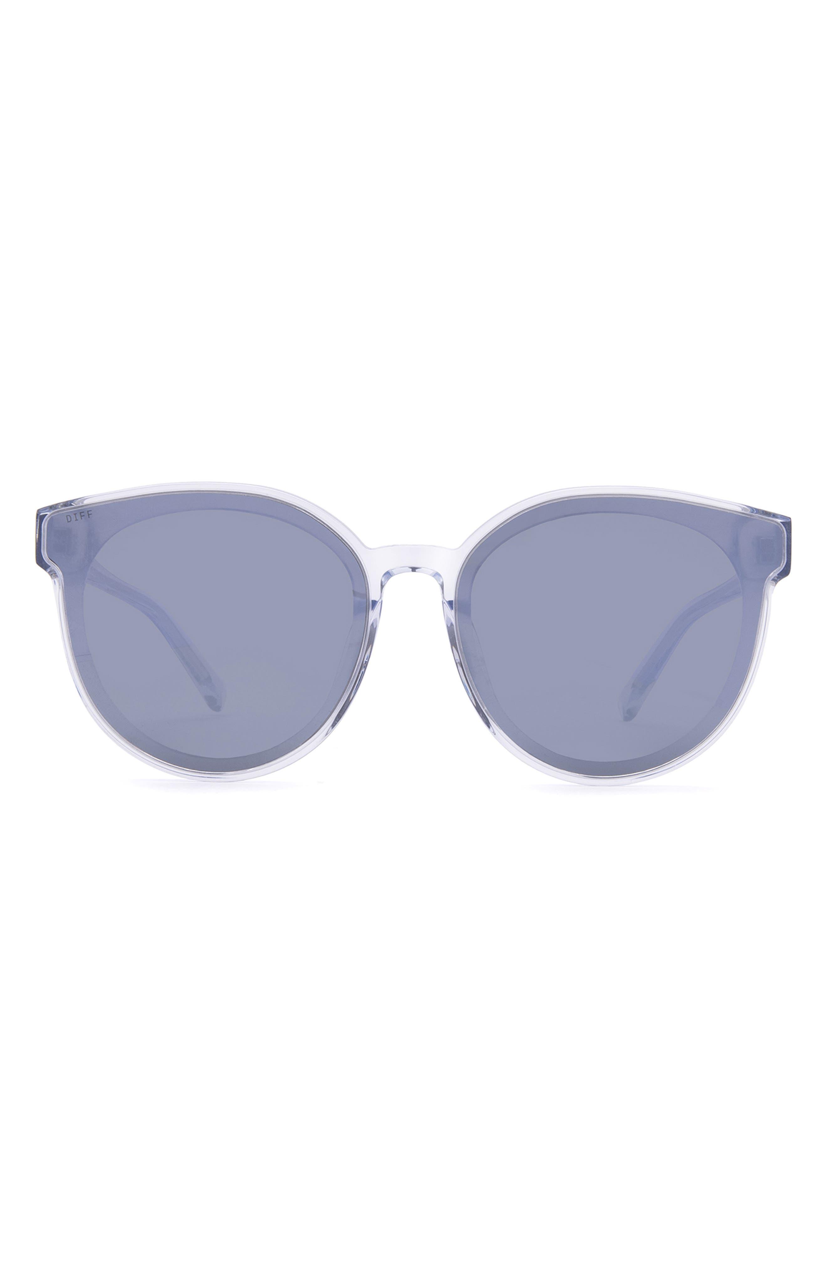 Gemma 67mm Oversize Round Sunglasses