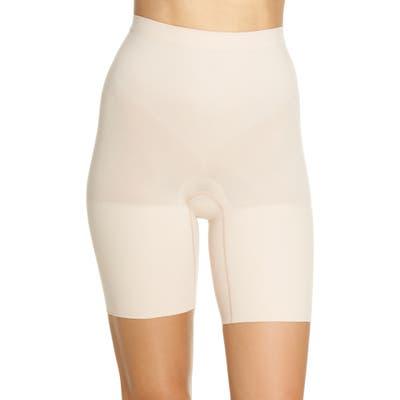 Plus Size Spanx Power Shorts, Beige