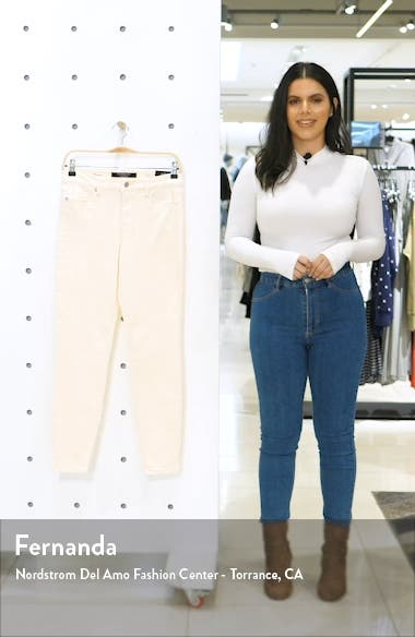 Abby Ankle Skinny Jeans, sales video thumbnail