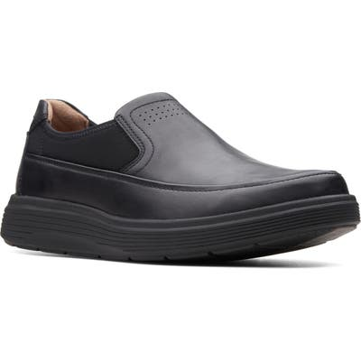 Clarks Un Abode Go Loafer, Black