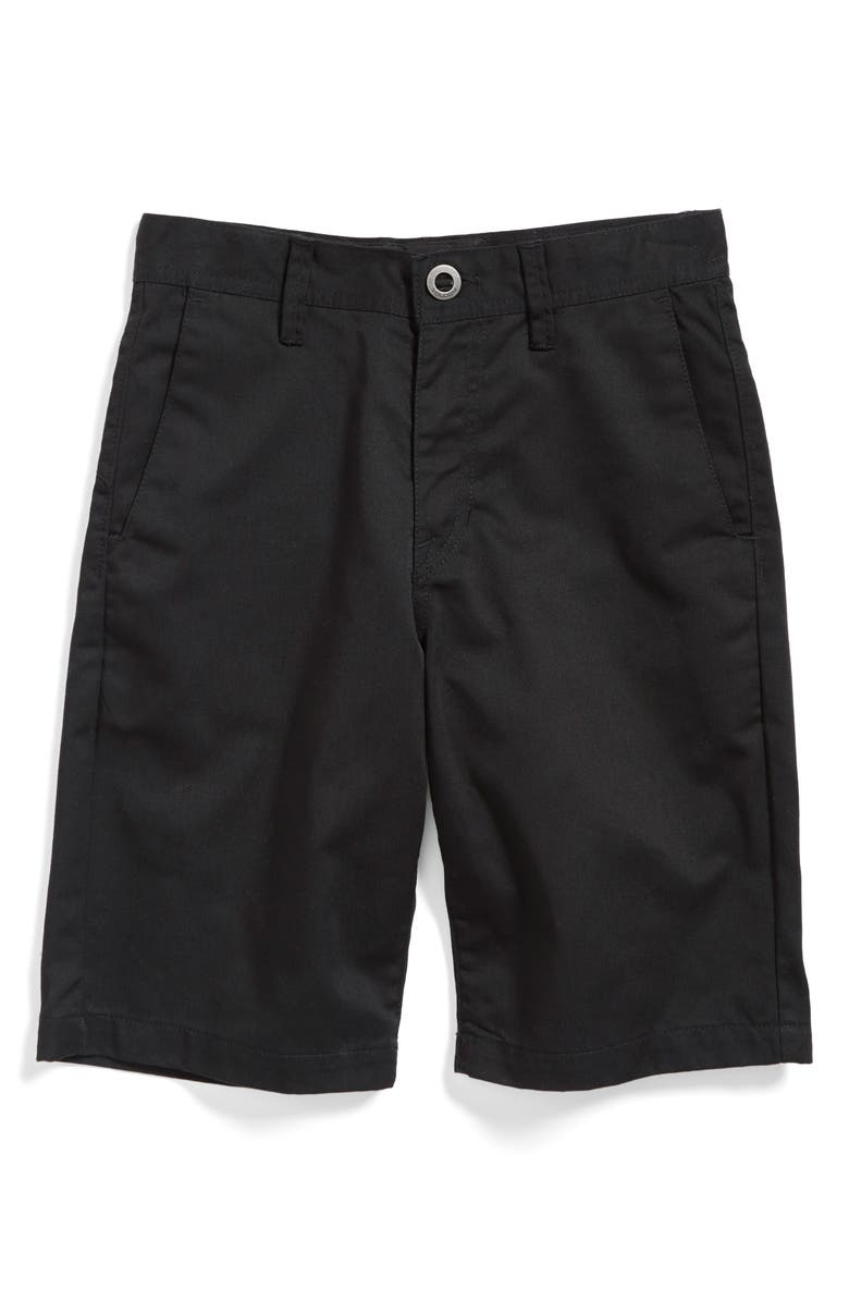 VOLCOM Chino Shorts, Main, color, 003