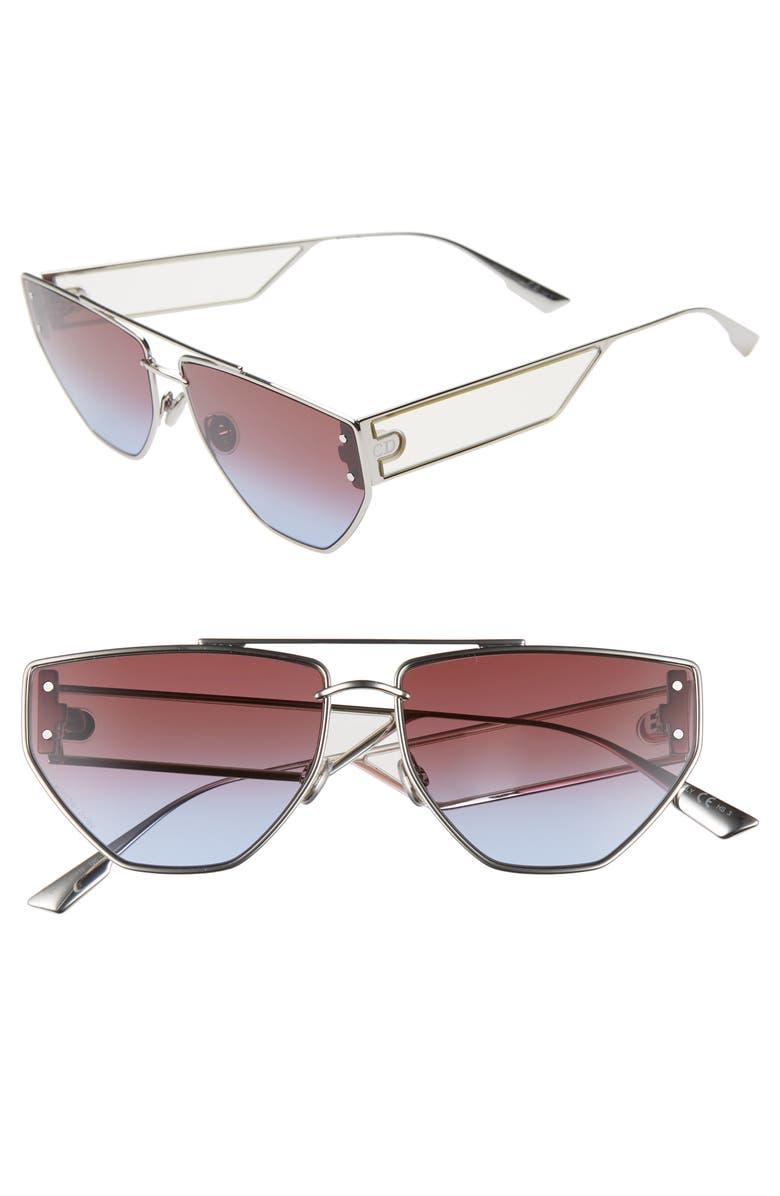 DIOR DiorClan 2 61mm Aviator Sunglasses, Main, color, 040