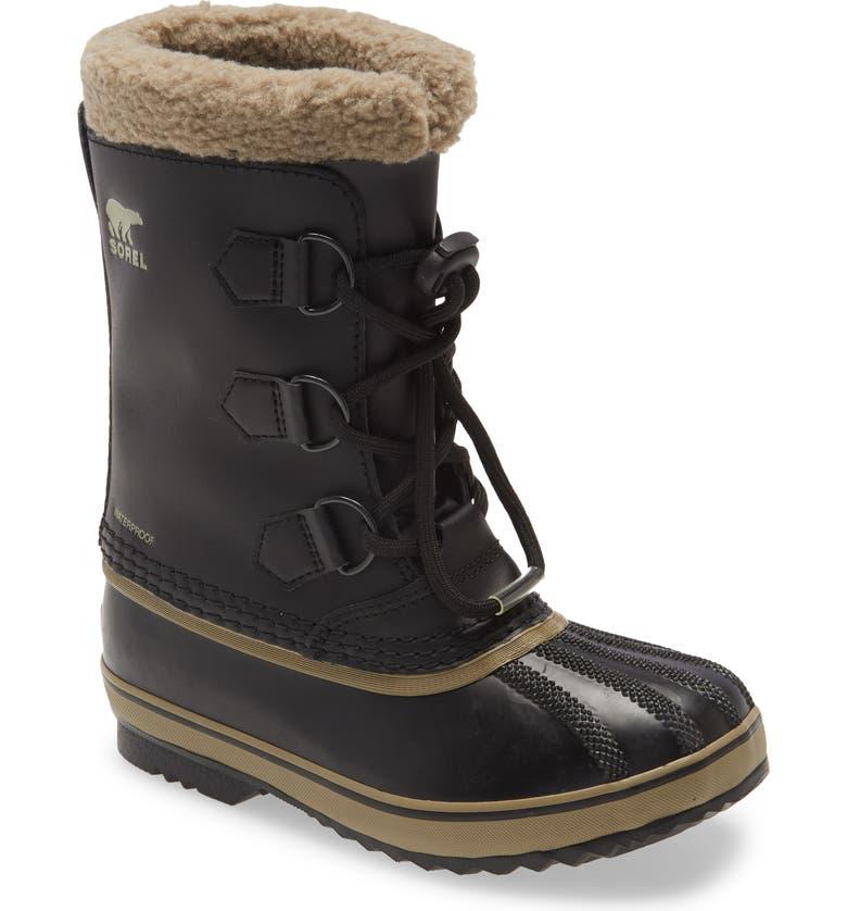 SOREL Yoot Pac Waterproof Insulated Snow Boot, Main, color, BLACK