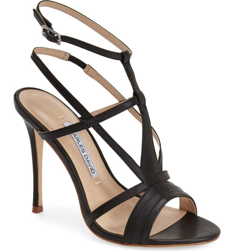 CHARLES DAVID 'Onia' Sandal, Main, color, 001