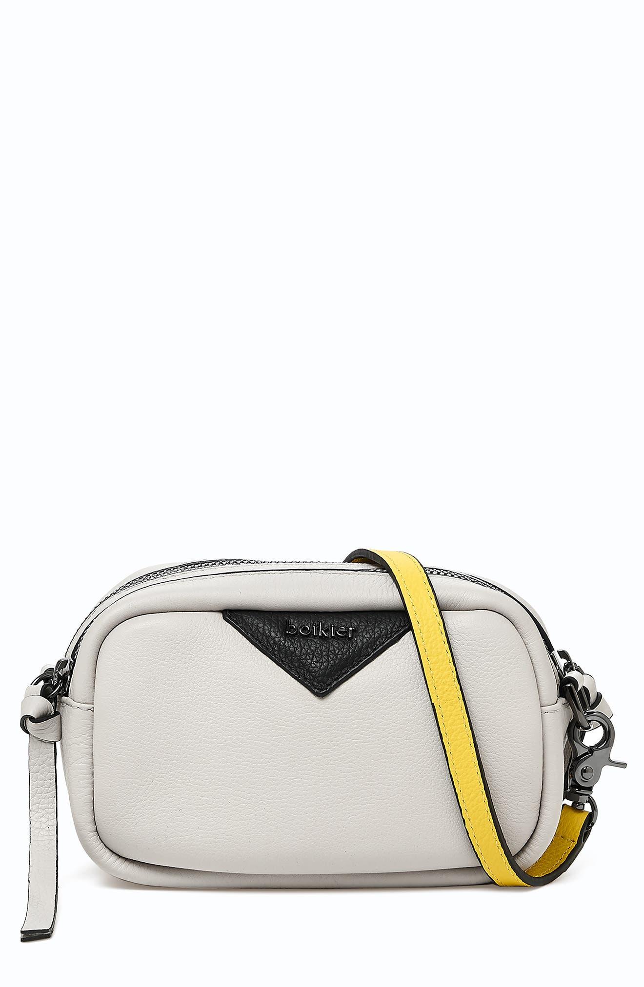 Allen Leather Crossbody Camera Bag