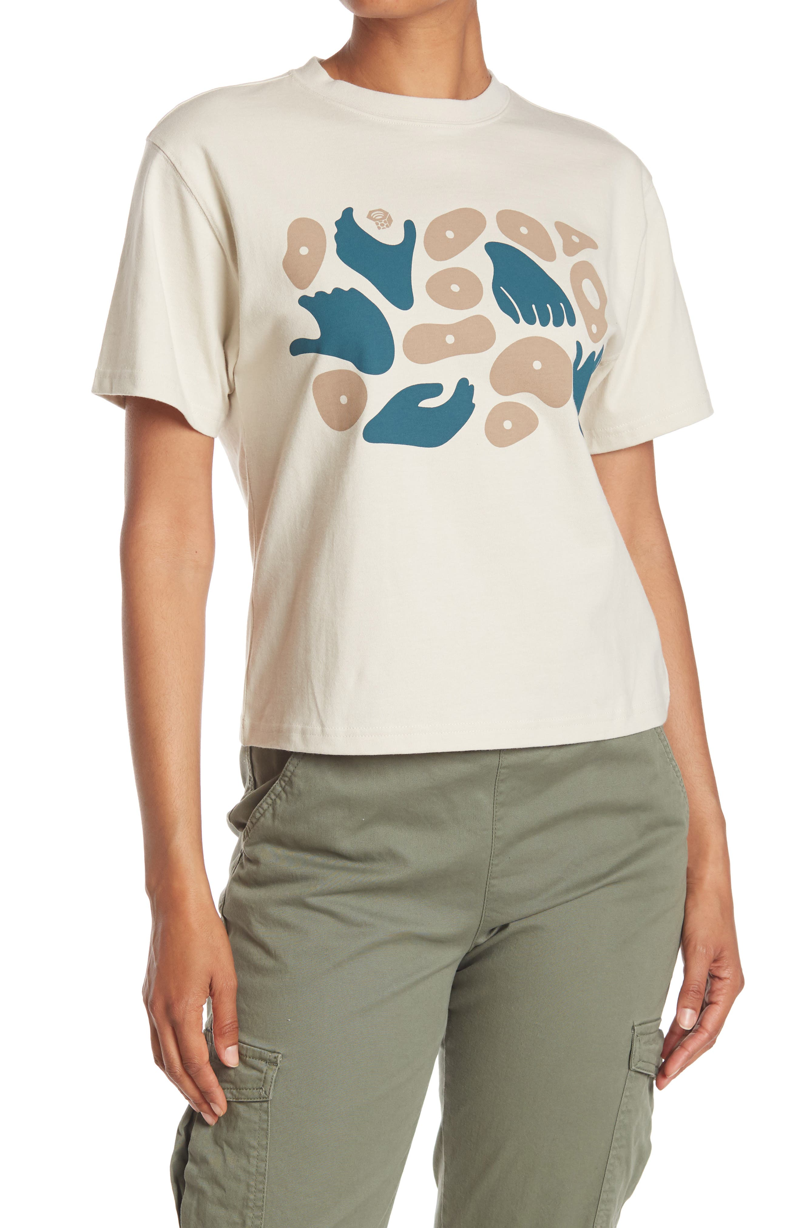 Image of MOUNTAIN HARDWEAR Handhold Graphic Short Sleeve T-Shirt