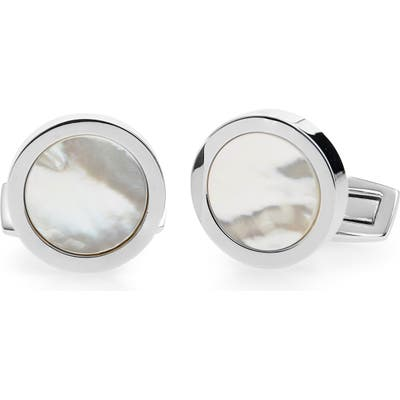 Boss Mother-Of-Pearl Cuff Links