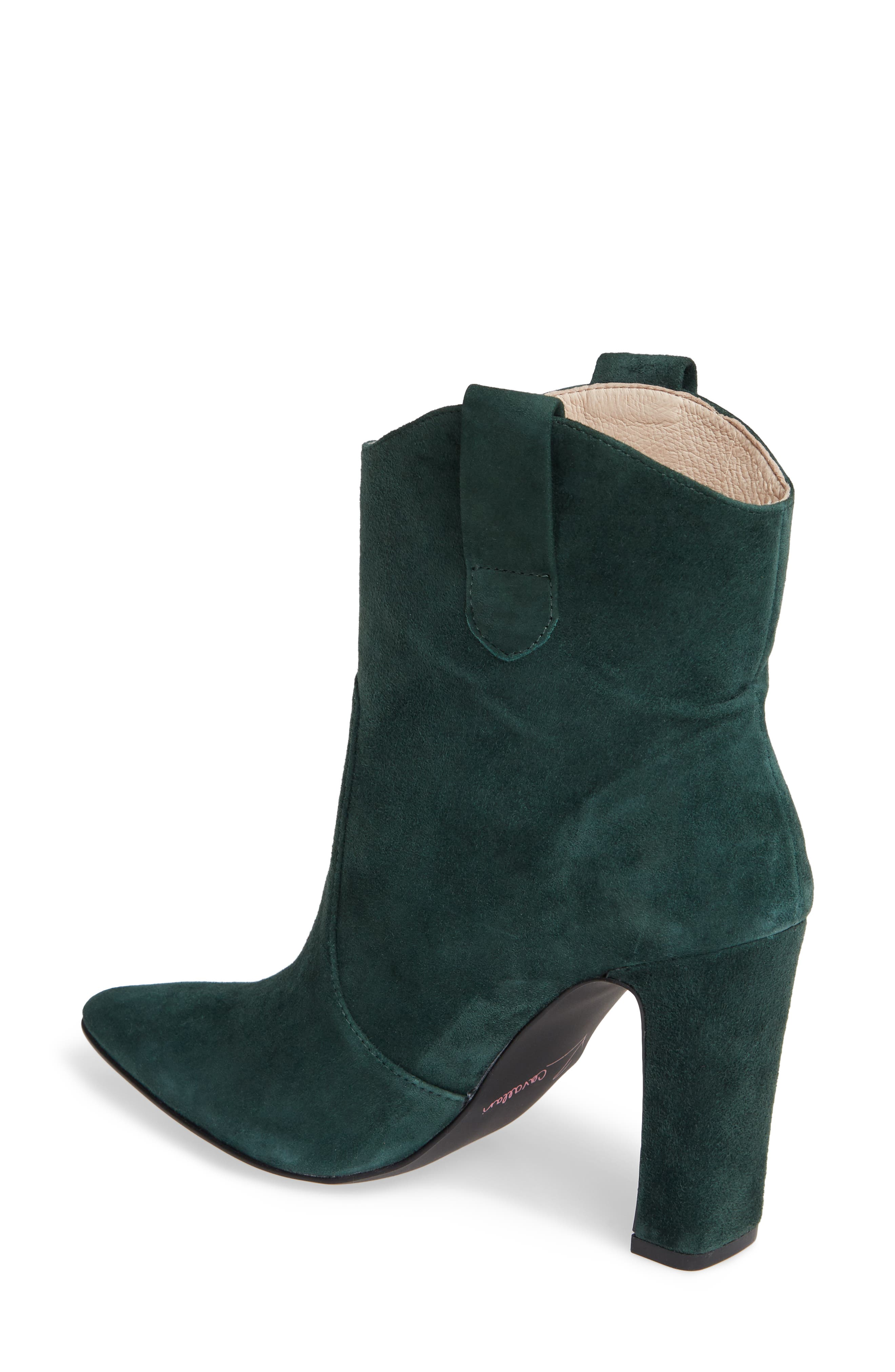 ,                             Karly Suede Bootie,                             Alternate thumbnail 8, color,                             335