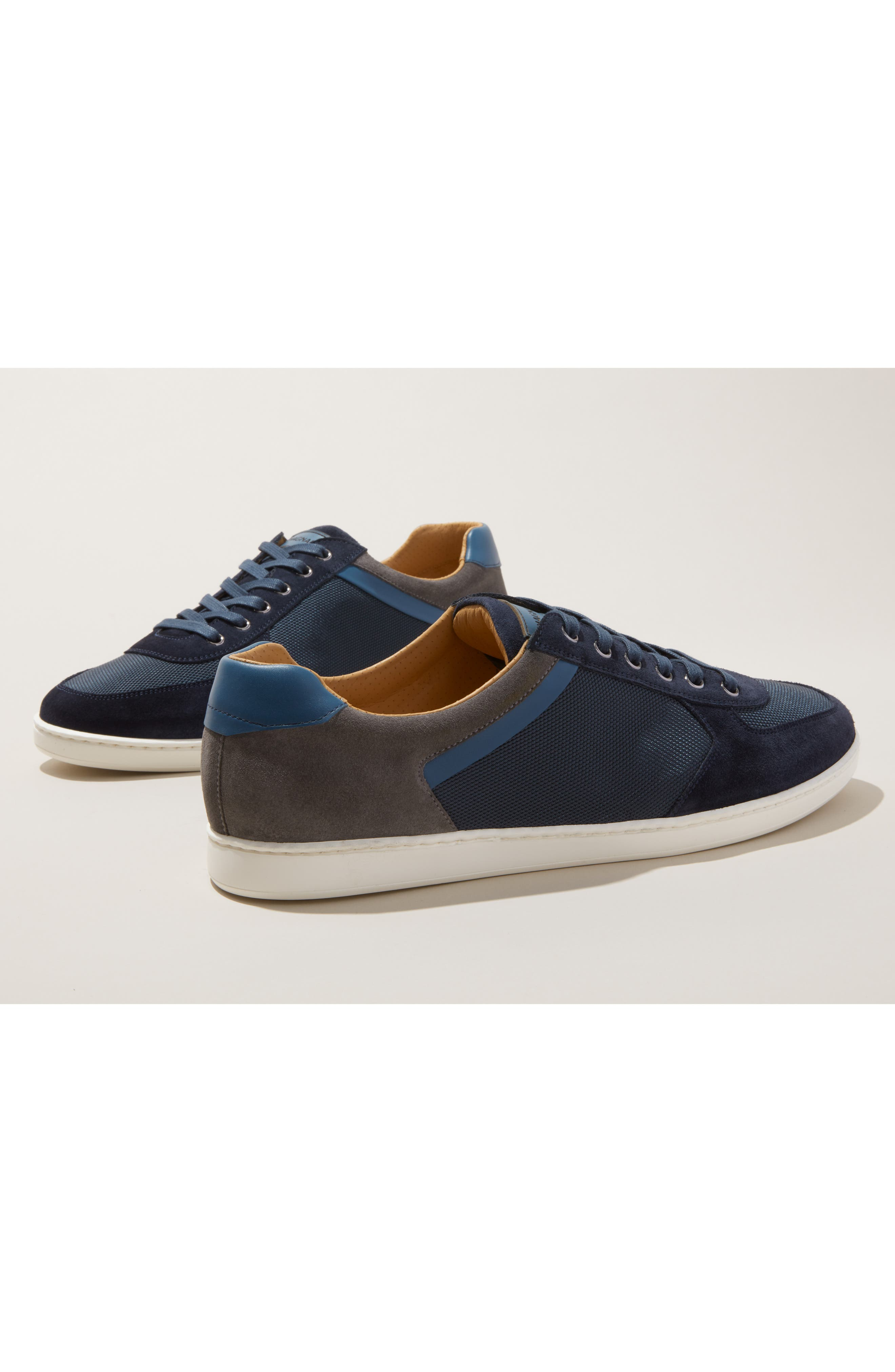 ,                             Echo Sneaker,                             Alternate thumbnail 8, color,                             NAVY SUEDE