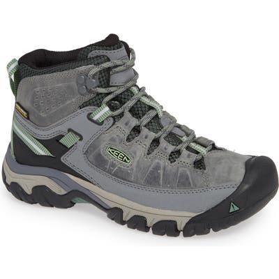 Keen Targhee Iii Mid Waterproof Hiking Boot- Grey