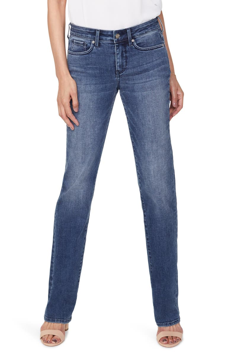 NYDJ Marilyn Straight leg Jeans, Main, color, 400