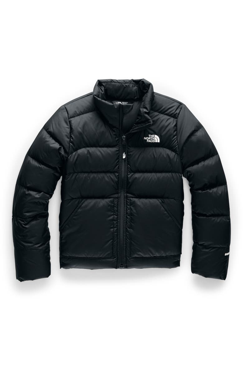 THE NORTH FACE Andes 550 Fill Power Down Jacket, Main, color, TNF BLACK
