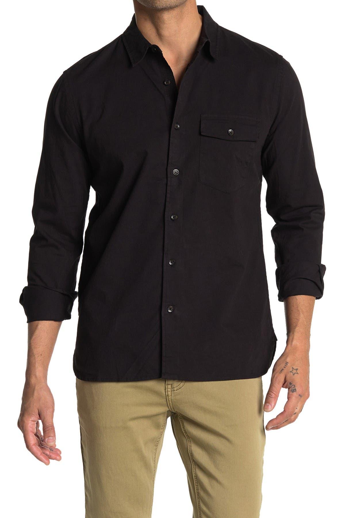 Image of BALDWIN Greer Slim Fit Shirt