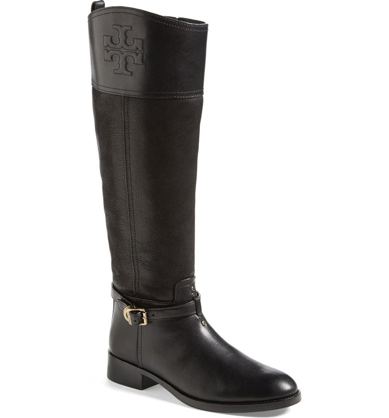 TORY BURCH 'Simone' Riding Boot, Main, color, 009