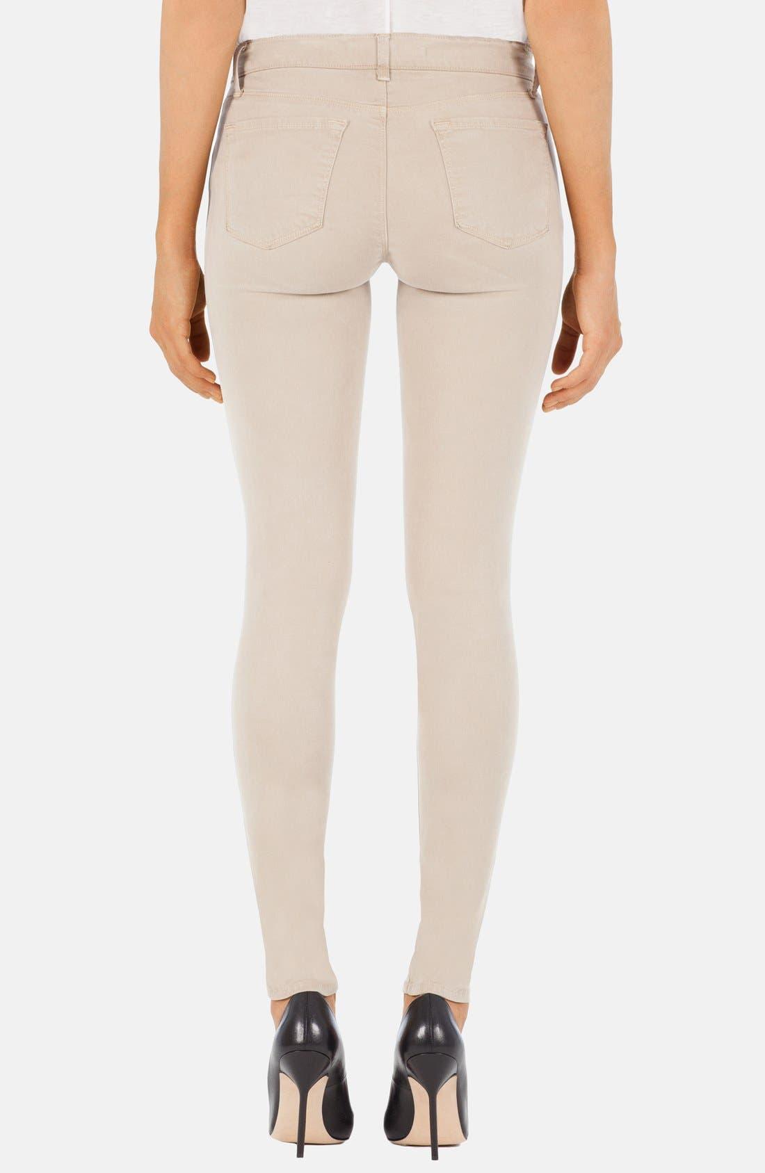 ,                             '485' Mid Rise Super Skinny Jeans,                             Alternate thumbnail 19, color,                             250