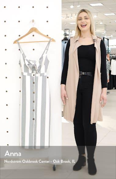 Stripe Tie Front Sundress, sales video thumbnail