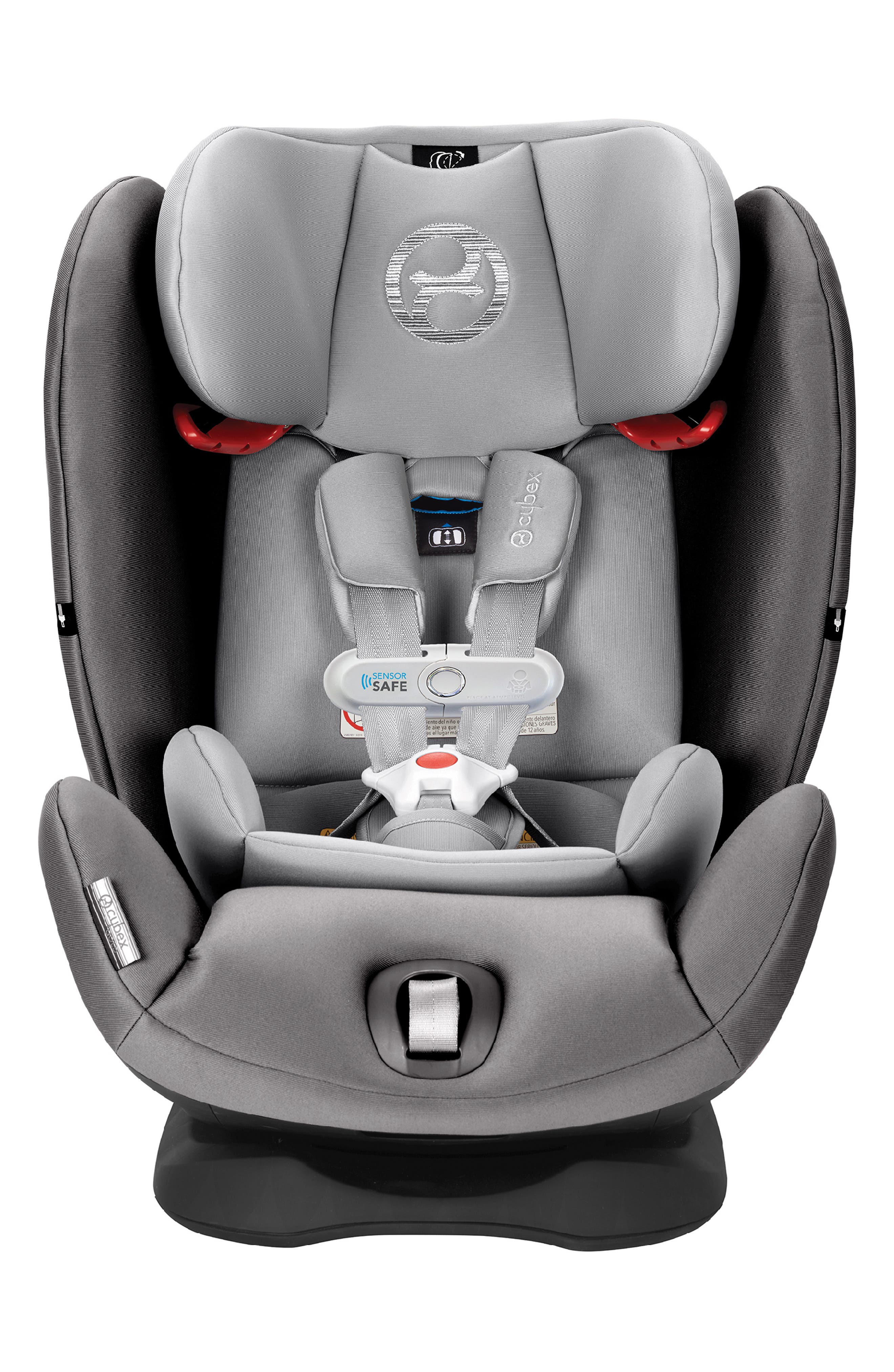 ,                             Eternis S SensorSafe<sup>™</sup> All-in-One Car Seat,                             Alternate thumbnail 10, color,                             BLACK/ GREY