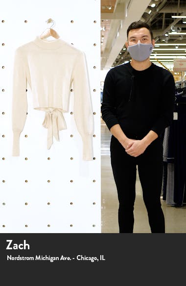 Osteria Open Back Cashmere Sweater, sales video thumbnail