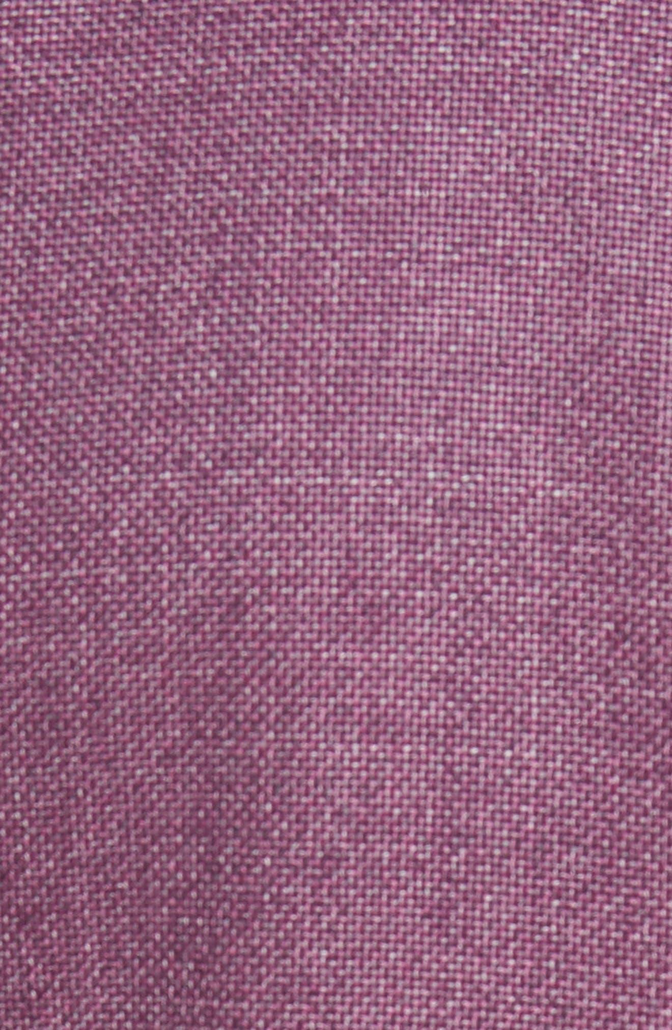 ,                             Kyle Trim Fit Wool Sport Coat,                             Alternate thumbnail 5, color,                             BERRY