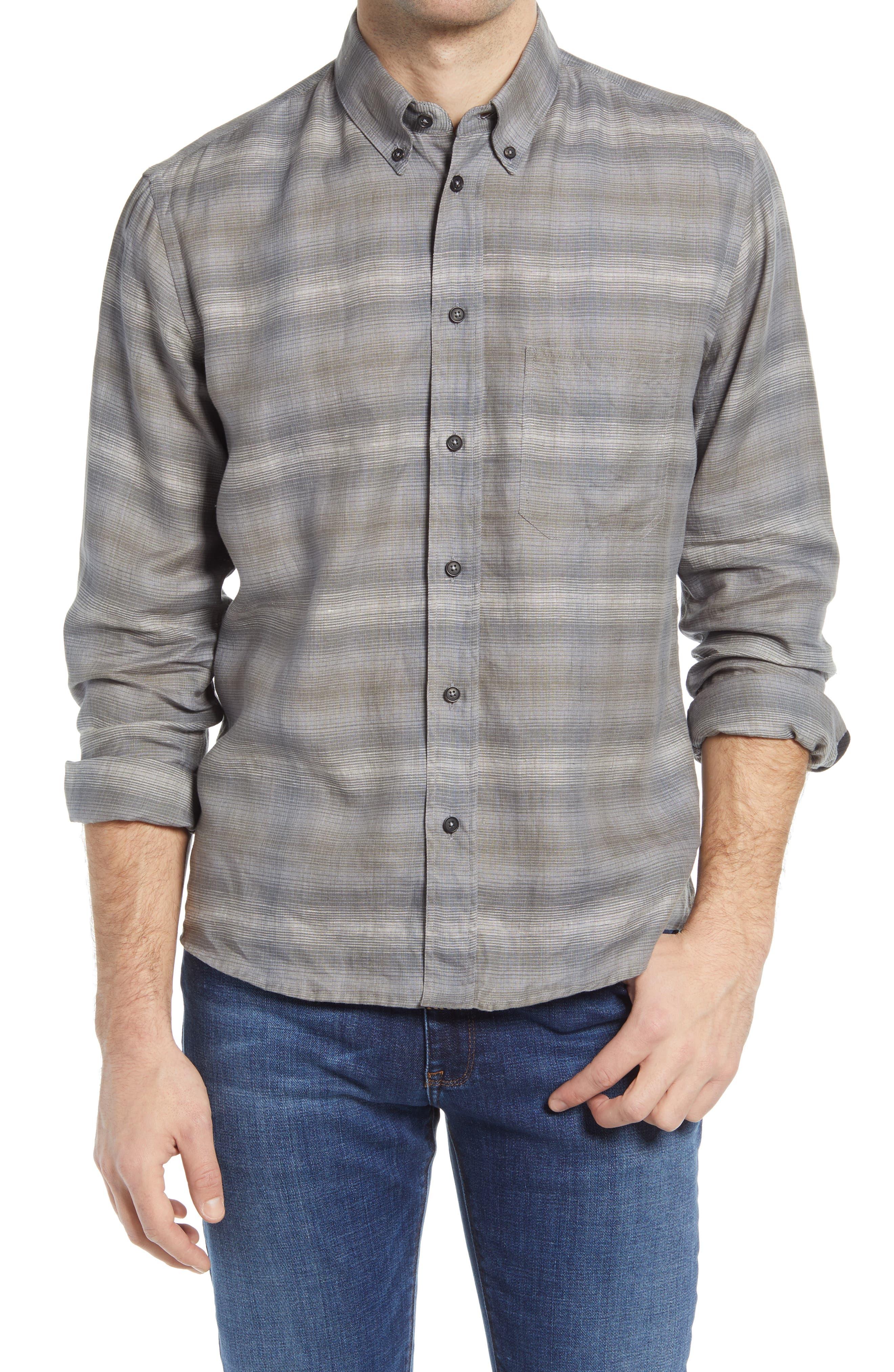 Tuscumbia Stripe Button-Down Shirt