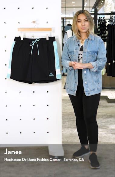 x DIAMOND Nylon Athletic Shorts, sales video thumbnail