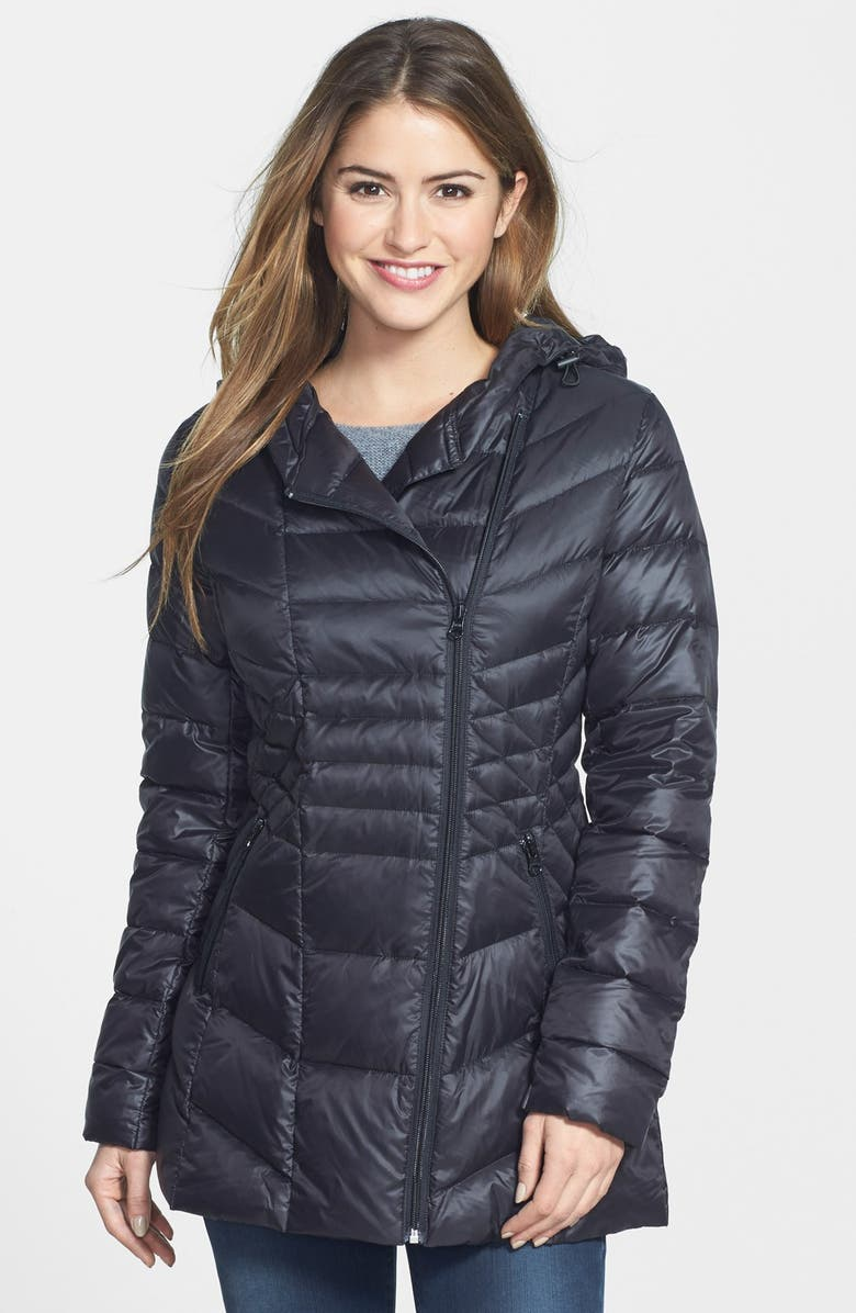 c5924a752 Hooded Down & Feather Fill Jacket