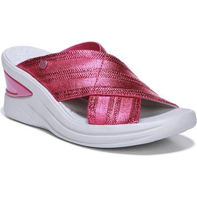 Bzees Vista Slide Sandal- Pink