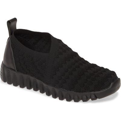 Bernie Mev. Amie Slip-On Sneaker, Black