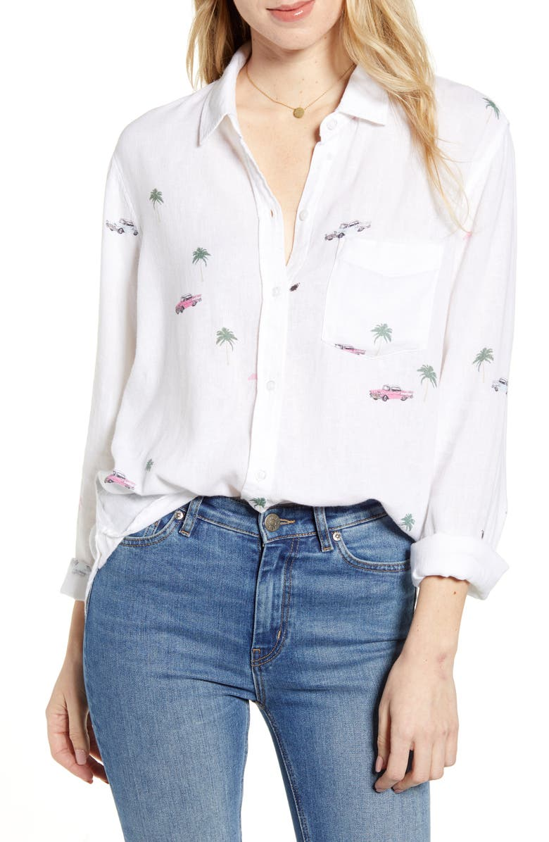 RAILS Charli Shirt, Main, color, RETRO CALI