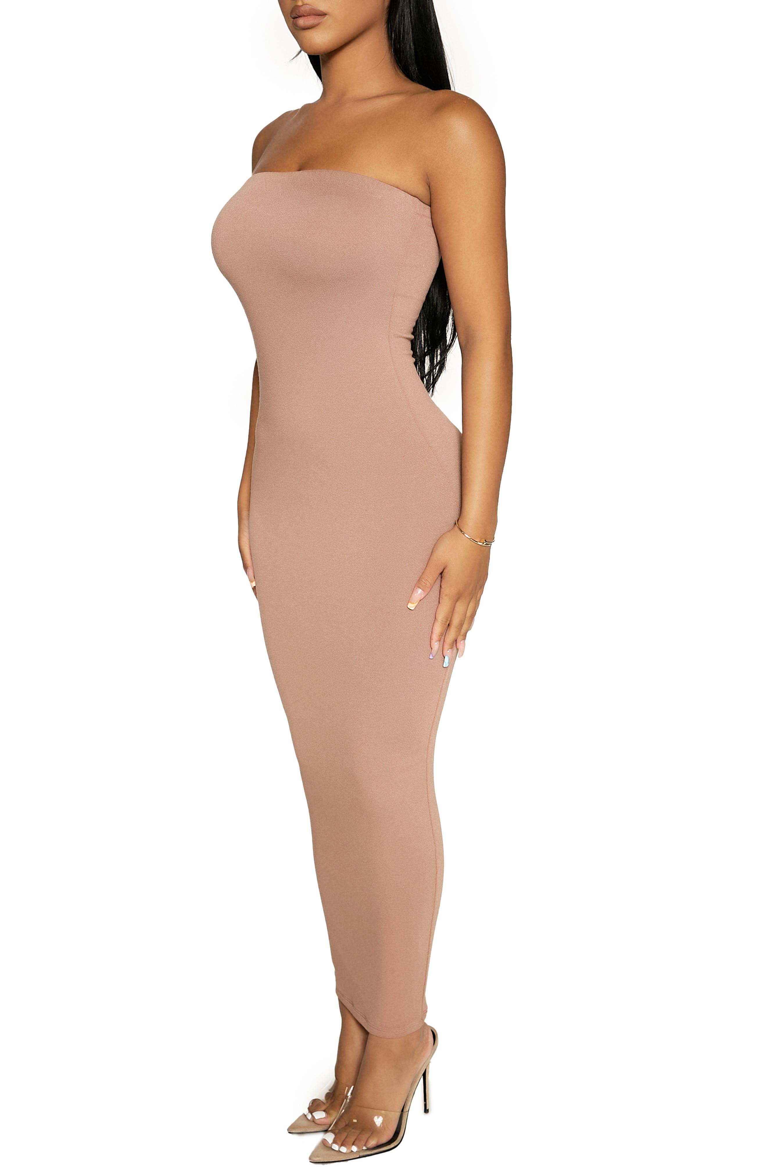 Women's Strapless Dresses