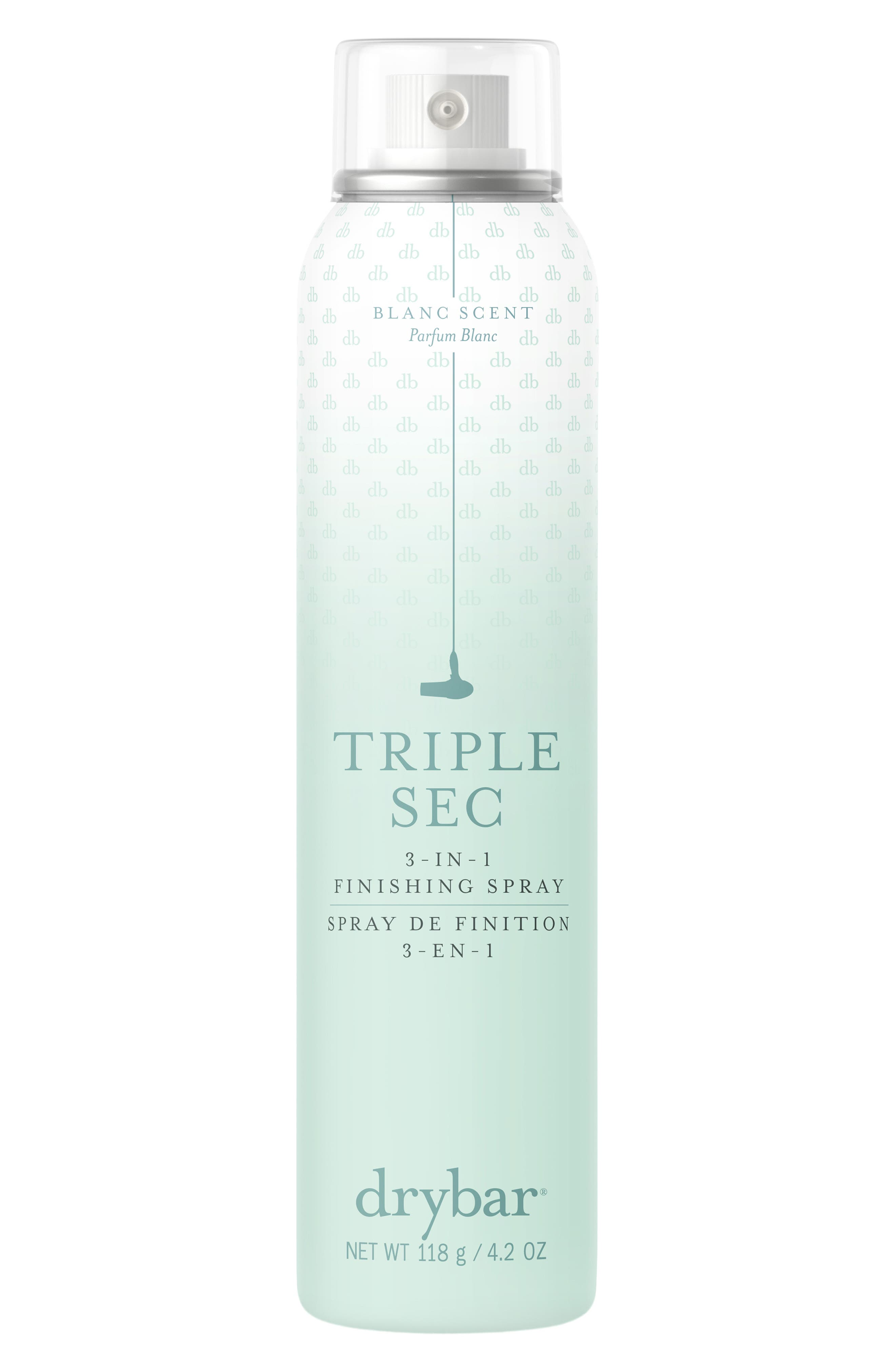Image of DRYBAR Triple Sec 3-in-1 (Blanc) Dry Spray - Travel Size