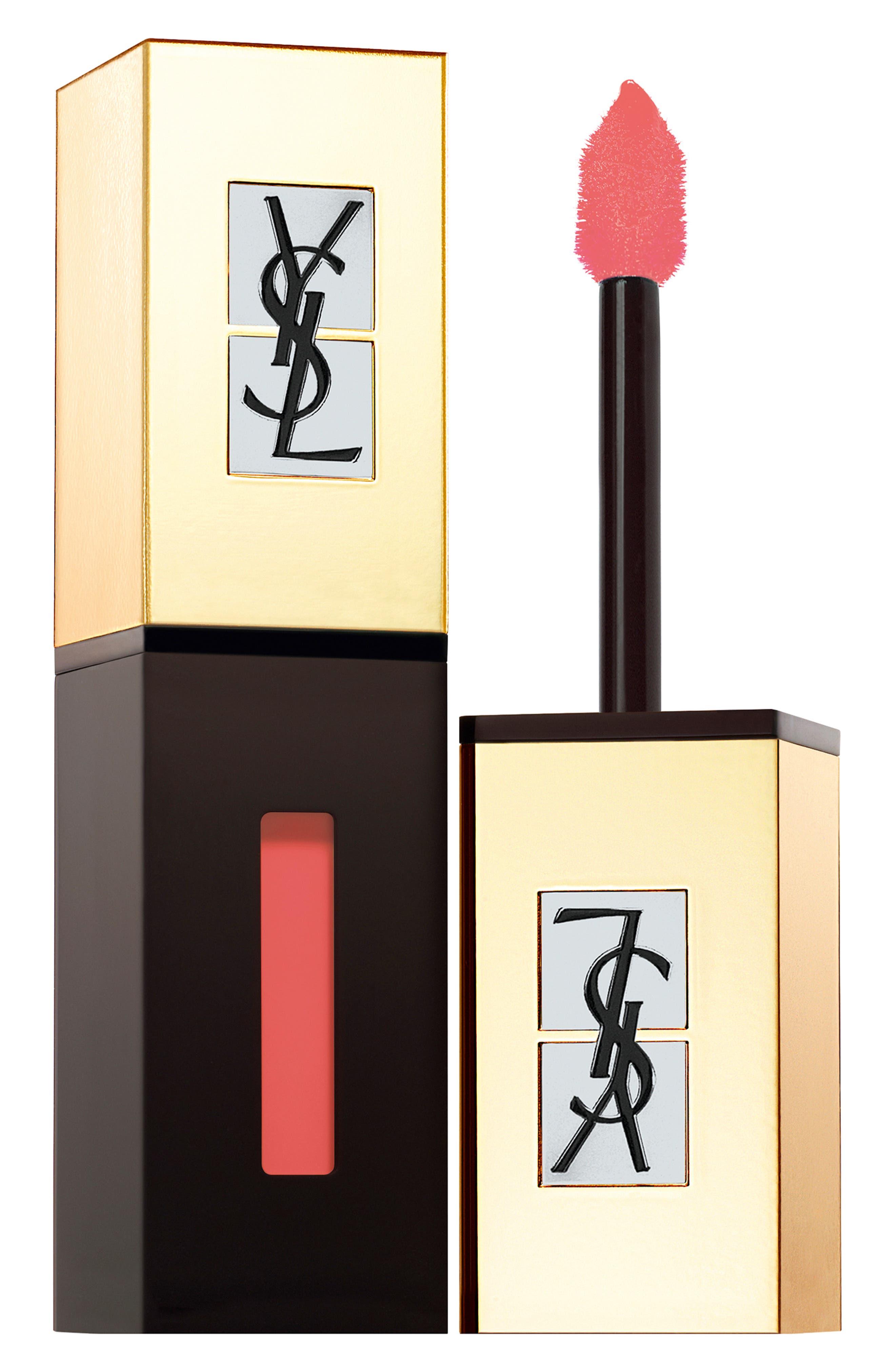 Yves Saint Laurent Pop Water Vernis A Levres Glossy Stain - 218 Orange Mist