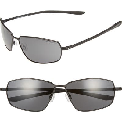 Nike Pivot Eight 6m Oversize Sunglasses - Satin Black/ Dark Grey