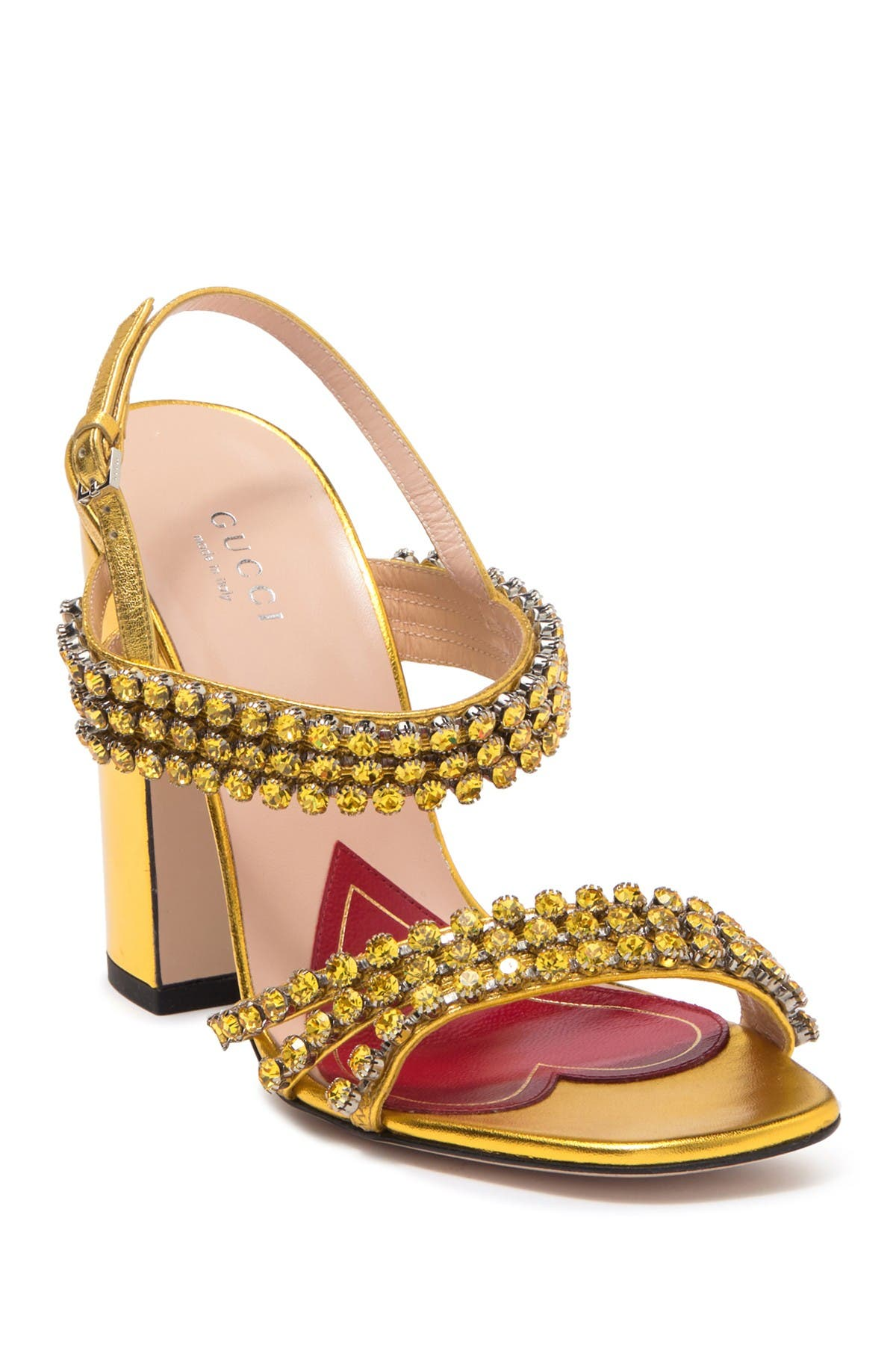 GUCCI   Bertie Crystal Embellished