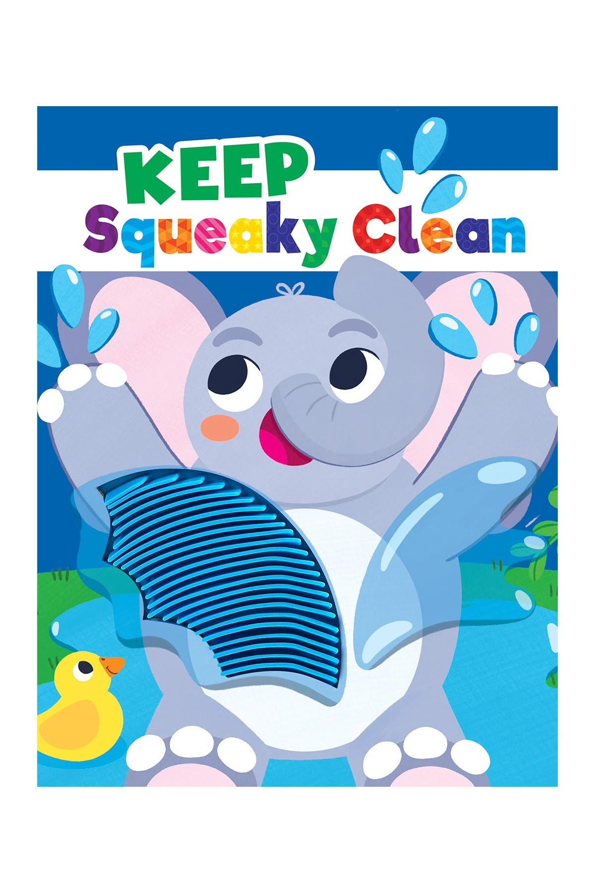 Image of LITTLE HIPPO BOOKS Keep Squeaky Clean