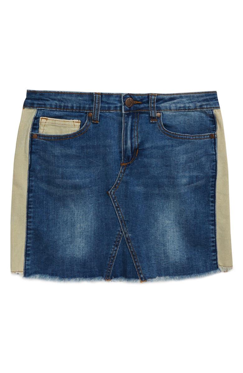 JOE'S The Markie Denim Skirt, Main, color, BILLE