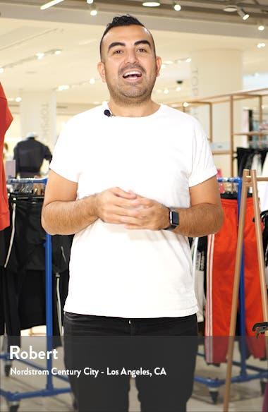Stripe Crewneck Wool Blend Sweater, sales video thumbnail