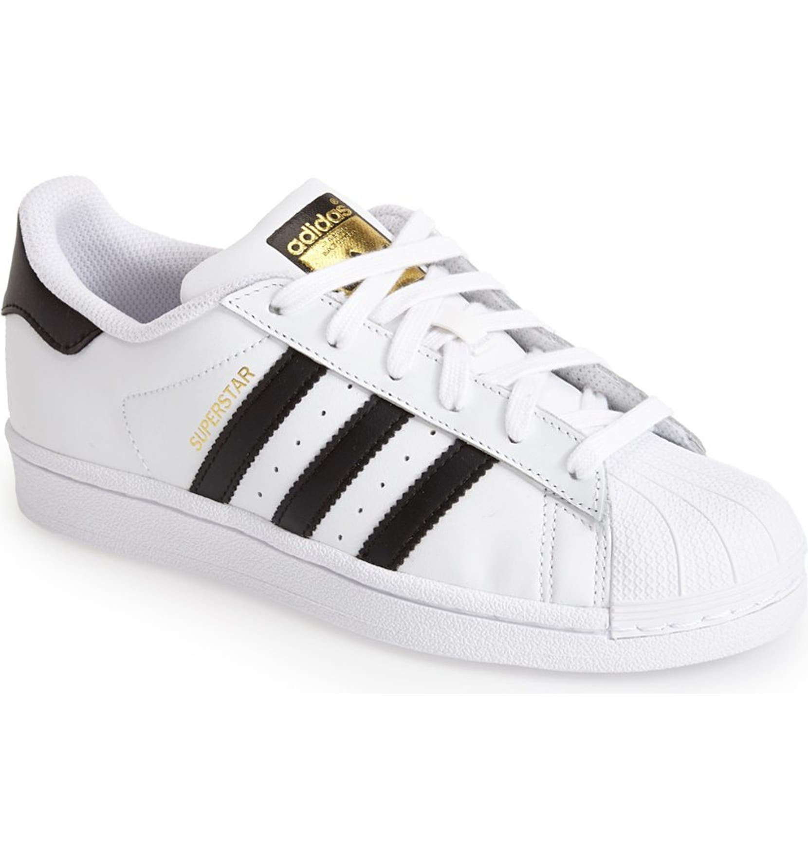 adidas superstar ii black white